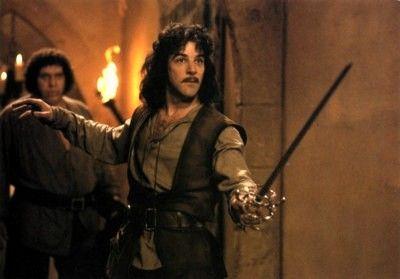 "The Princess Bride - ""Hello. My name is Inigo Montoya. You killed my father. Prepare to die."""