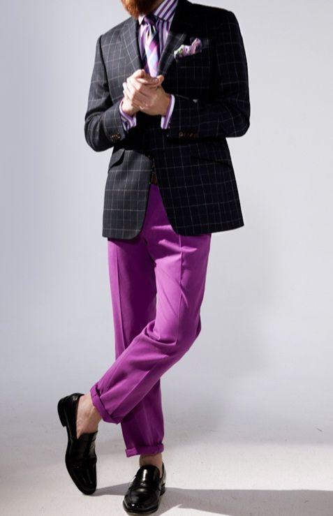 superb purple outfits men 10