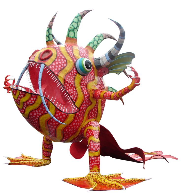 Alebrije sapo-pez#Repin By:Pinterest++ for iPad#