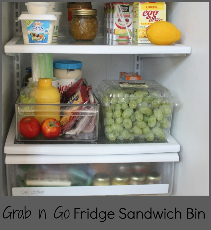 14 Genius Hacks For A Perfectly Organized Refrigerator: 351 Best Refrigerator & Freezer Organization Images On