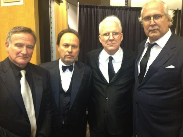 More legends: Robin Williams, Billy Crystal, Steve Martin & Chevy Chase