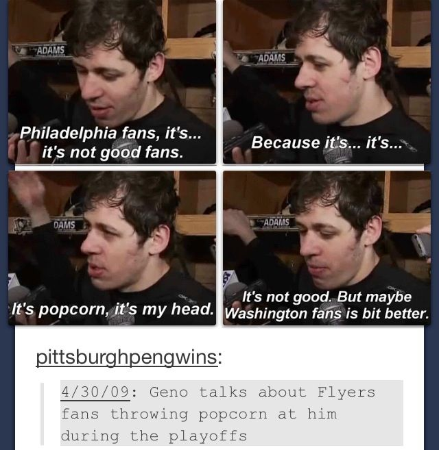 It's hard for me to explain just how much I love Evgeni Malkin