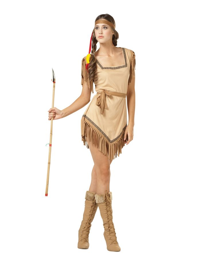 naughty galilahi indian adult costume for halloween pure costumes - Native American Costume Halloween
