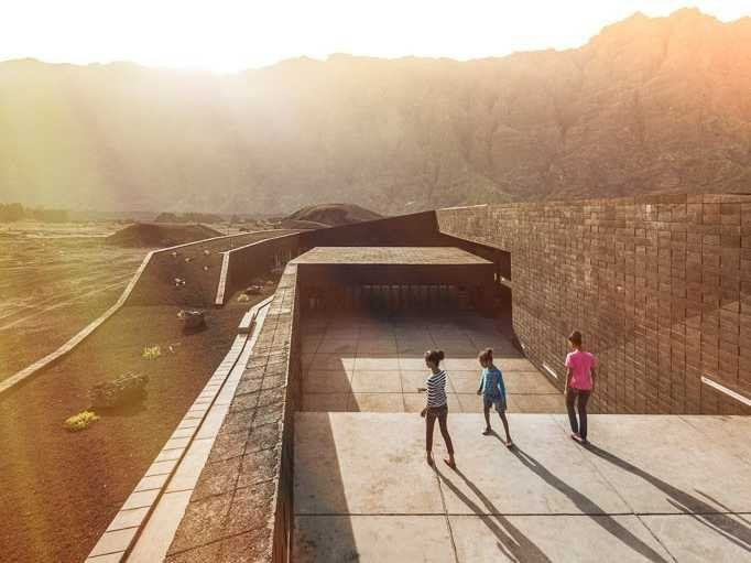 ACultural Architecture — Natural Park Venue, Cape Verde  Read more: http://www.businessinsider.com/archdaily-best-new-buildings-2015-2?op=1#ixzz3R6dJF22K