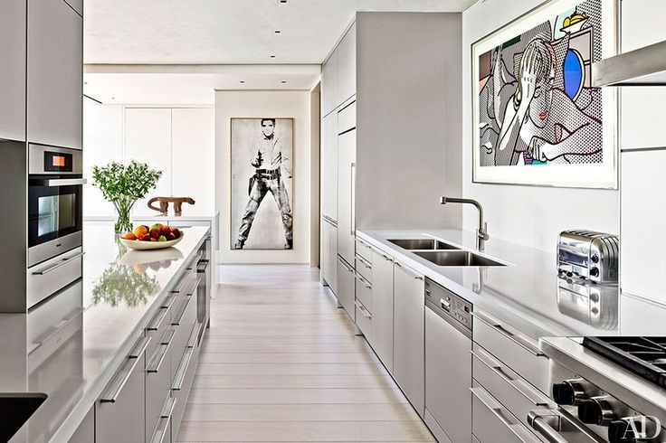 Decor Inspiration A Kitchen To Live In: A Soaring High-Rise Apartment In Chicago Receives A Museum
