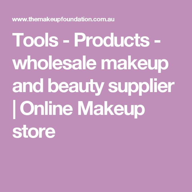 Tools - Products - wholesale makeup and beauty supplier | Online Makeup store