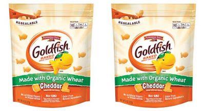 Pepperridge Farm Goldfish Organic Crackers.....Cheddar, Parmesan, and Saltine.
