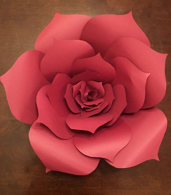 You will receive 1 large paper flower measuring 17 in diameter. Made in a smoke free environment.