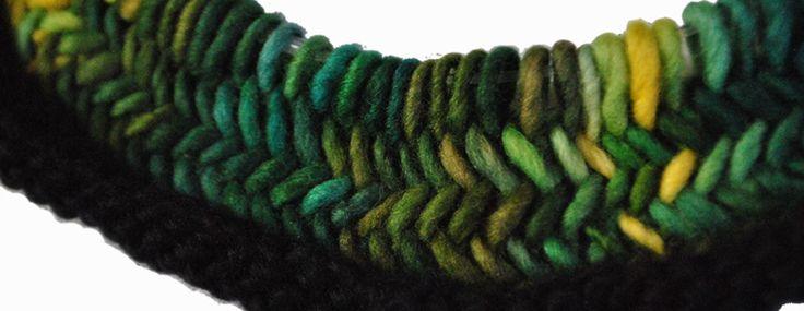 herringbone stitch variegated