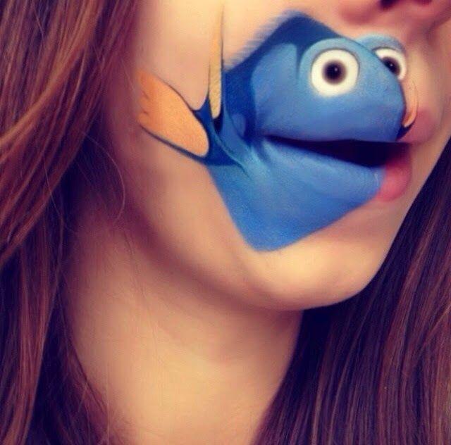 Dory from <em>Finding Nemo</em>