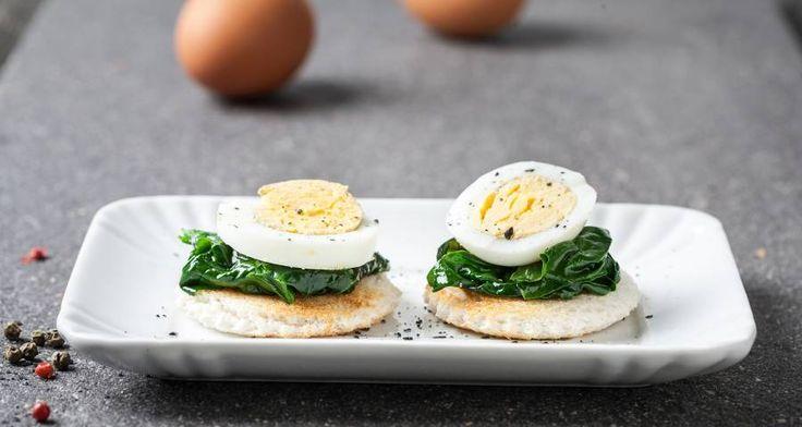 Tartine con spinacini e uova #Star #ricette #food #recipes #tartine #spinaci #uova #eggs #yummy #foodporn #delicious #foodie #eat #foodgasm #foodpic #cooking