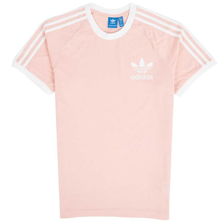 CLFN T Shirt VAPOUR PINK F16SUPER GOLD S12WHITE | Addidas