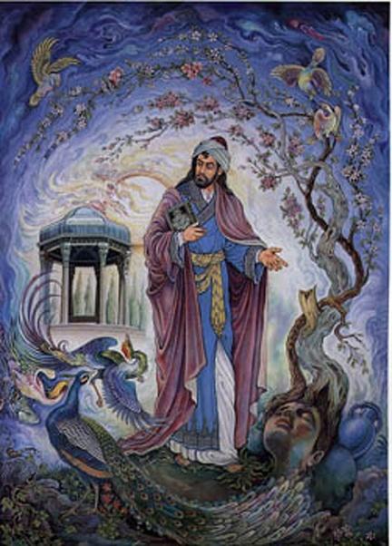 Persian Art Hafez & his mausoleum