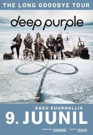Tänä vuonna tulee kuluneeksi 50 vuotta brittiläisen hard rock -yhtyelegendan Deep Purplen ensimmäisestä, Shades of Deep Purple -nimisestä, albumista. Bändi kiertää keikkalavoja nyt 20:nnen albuminsa InFinite tiimoilta ja saapuu esiintymään Saku Suurhalliin 9.6. #eckeröline #tallinna