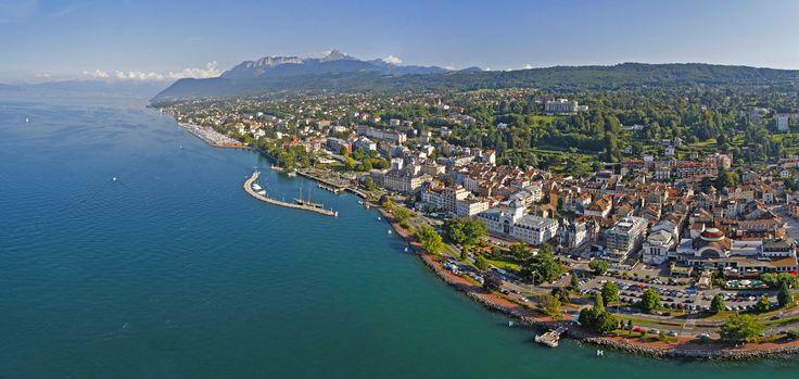 La ville d'Evian : séjour Evian - OT Évian-les-Bains