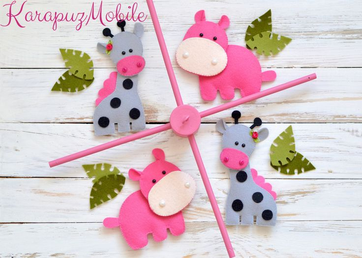 HELLO AND WELCOME TO KARAPUZ MOBILE! Add a drop of color to your life by decorating your baby room with this gorgeous mobile. **PLEASE READ everything before making your purchase for any...