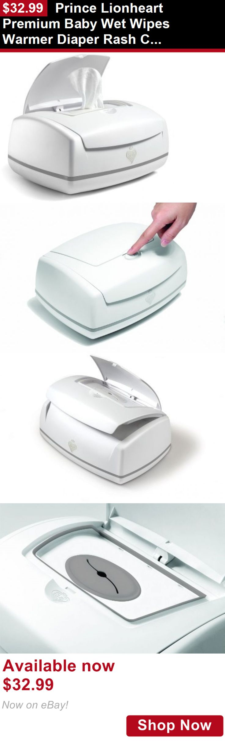 Baby Wipe Warmers: Prince Lionheart Premium Baby Wet Wipes Warmer Diaper Rash Changing Table BUY IT NOW ONLY: $32.99