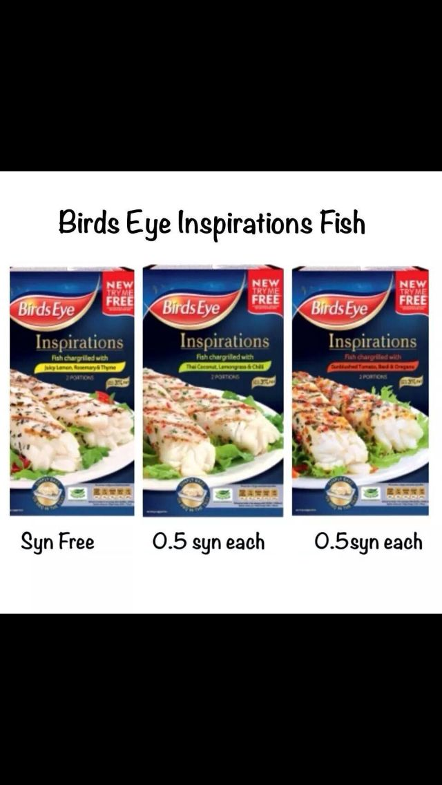 birds eye inspirations - syn values.