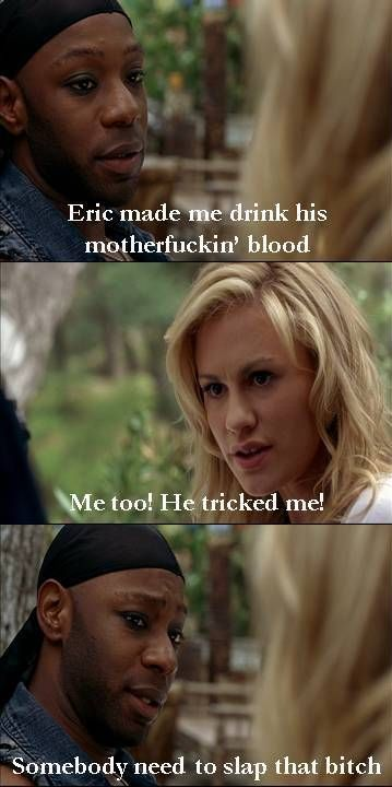 "Lafayette & Sookie bitch about Eric in ""True Blood"""