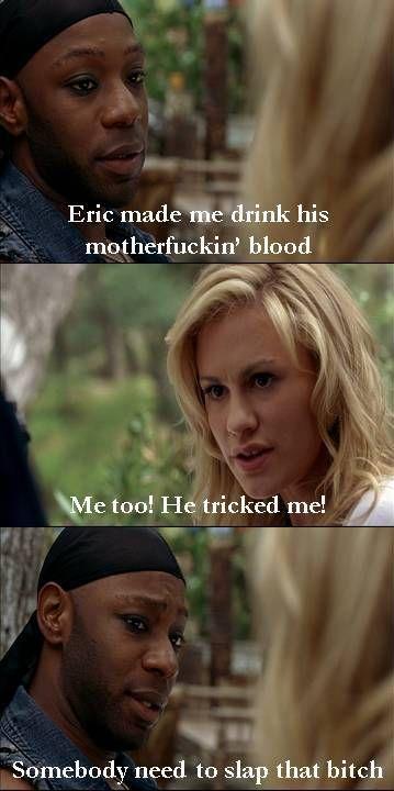 "Lafayette & Sookie bitch about Eric in ""True Blood"""