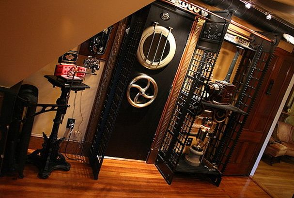 17 best images about steampunk remodeling on pinterest for Steampunk bathroom ideas