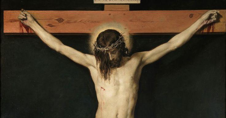 Cristo crucificado, 1632. Obra de Diego Rodríguez de Silva y Velázquez Óleo sobre lienzo, 248 x 169 cm Museo del Prado , Madrid. Es...