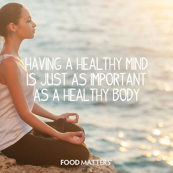 Nourish your mind just as much as you would nourish your body!  www.foodmatters.com #foodmatters #FMquotes #inspiration