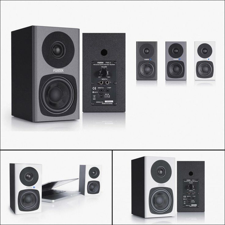 The PM0.3 is the Fostex's first 3″ 2-way powered monitor speaker system. The combination of the dedicated 3″ LF and 3/4″ HF drivers together with the built-in D-class power amplifier. Learn more here: http://nsoci.al/netu09