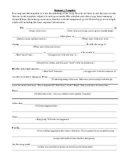 Doc summary essay