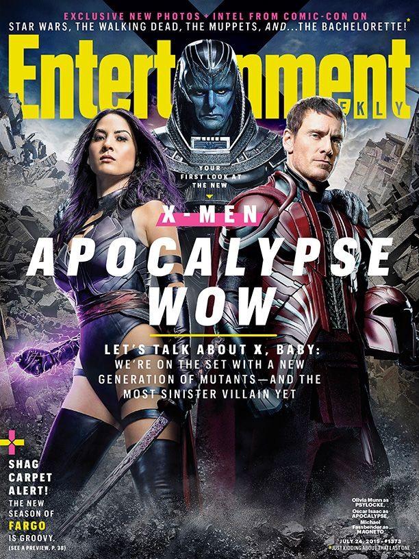X-Men Apocalypse EW cover