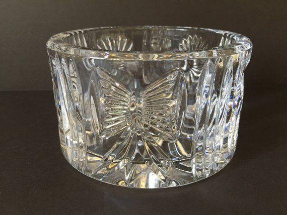 Vintage Waterford Crystal Millennium Series Champagne Wine Bottle Coaster Waterford Crystal Collector Piece Elegant Crystal Barware Waterford Crystal Blue Wine Glasses Crystals