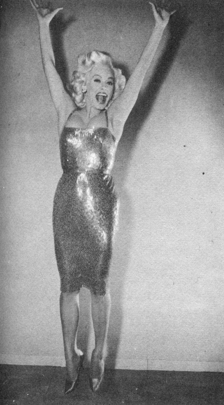more of an attitude inspiration than an actual style inspiration: mamie van doren