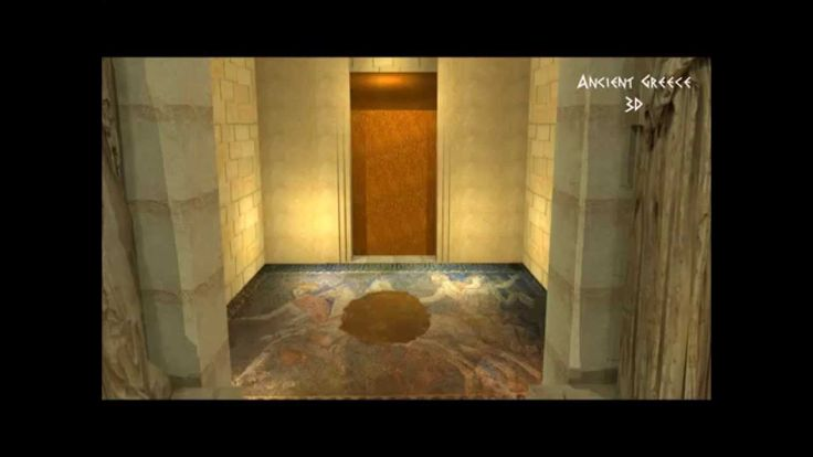 Ancient Greece 3D - Tomb of Amphipolis: Comparison with great ancient mo...