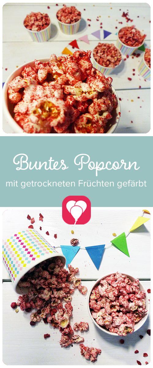 Zur Kino Party Zaubern Wir Schnell Noch Das Passende Selbstgemachte Und  Bunte Popcorn! Wie Das Geht Zeigen Wir Dir Auf Blog.balloonas.com!