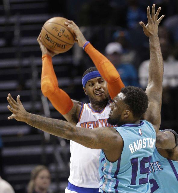 New York Knicks vs. Charlotte Hornets NBA pictures - Newsday