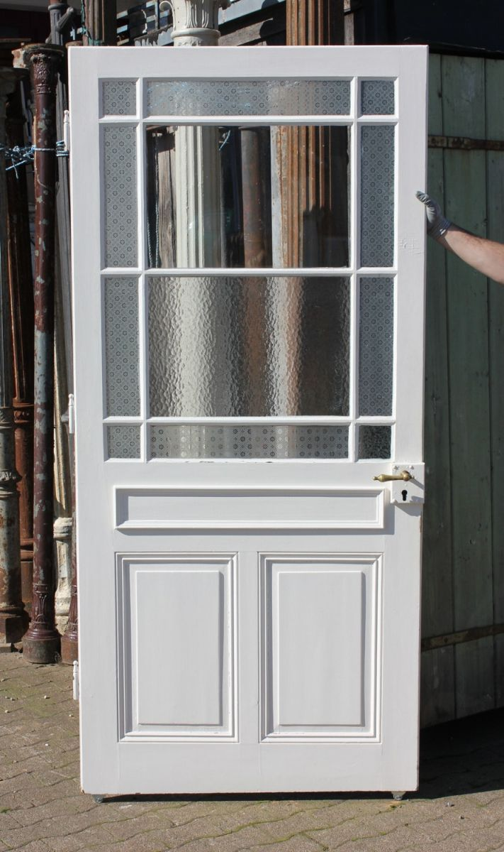 Sprossentür | Ein Angebot aus der Rubrik »Einflügelige historische Türen mit großem Glaseinsatz, alle Höhen« von Florian Langenbeck, Historische Türen und Baustoffe, Freiburg