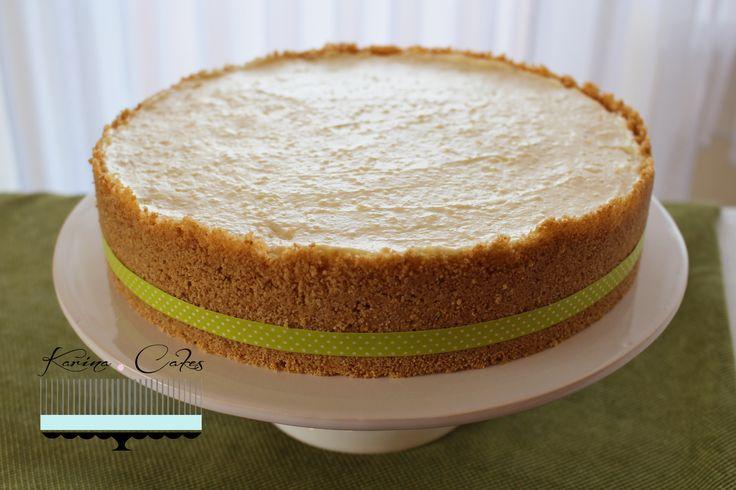 Tvarohovo-limetkový koláč - Lime Cheesecake