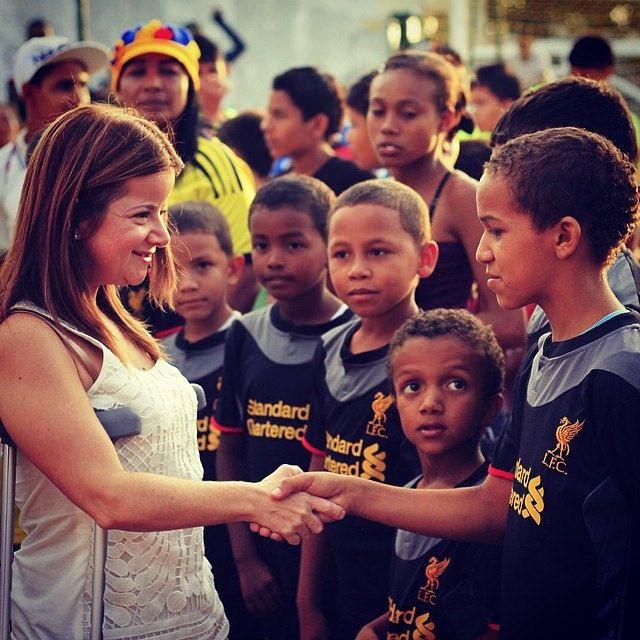 Por los atletas de hoy y por supuesto, por los del futuro. Juegos Centroamericanos y del Caribe #barranquilla2018