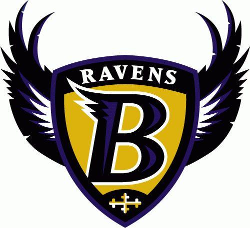 Baltimore Ravens Logo (1996 - 1998)