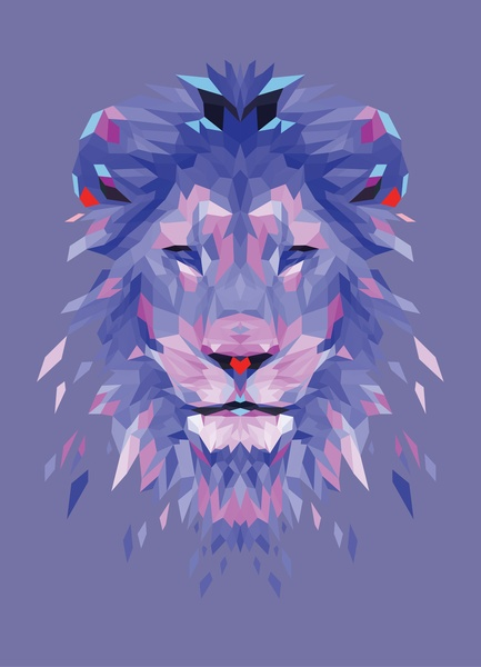 Royalty - Blue Art Print - @Connie Hamon Hamon Hamon Hamon Brzowski Hamon Brzowski Rodeman - Mama - do you love this? Leo/purple=awesome