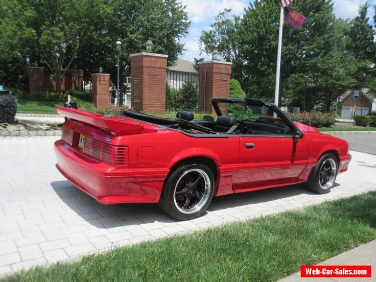 1993 Ford Mustang GT Convertible 2-Door #ford #mustang #forsale #unitedstates