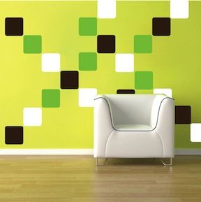 Equal Squares Wall Decals & Cheap Wall Decals From Trendy Wall Designs
