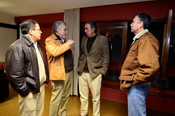 Rodolfo Urtubey mantuvo un debate en la Caja de Abogados