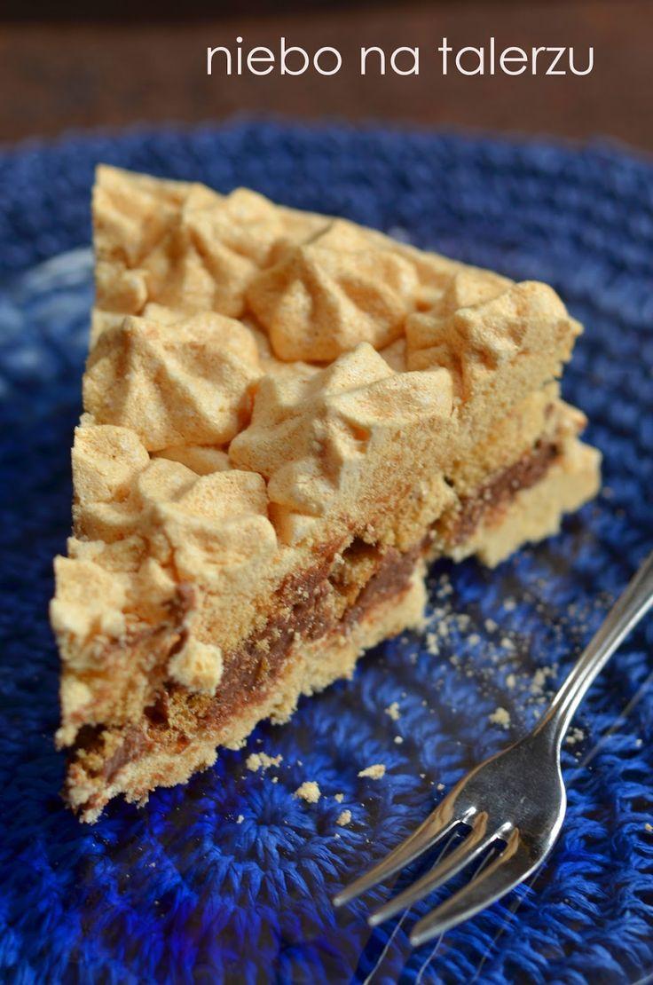 niebo na talerzu: Tort bezowy