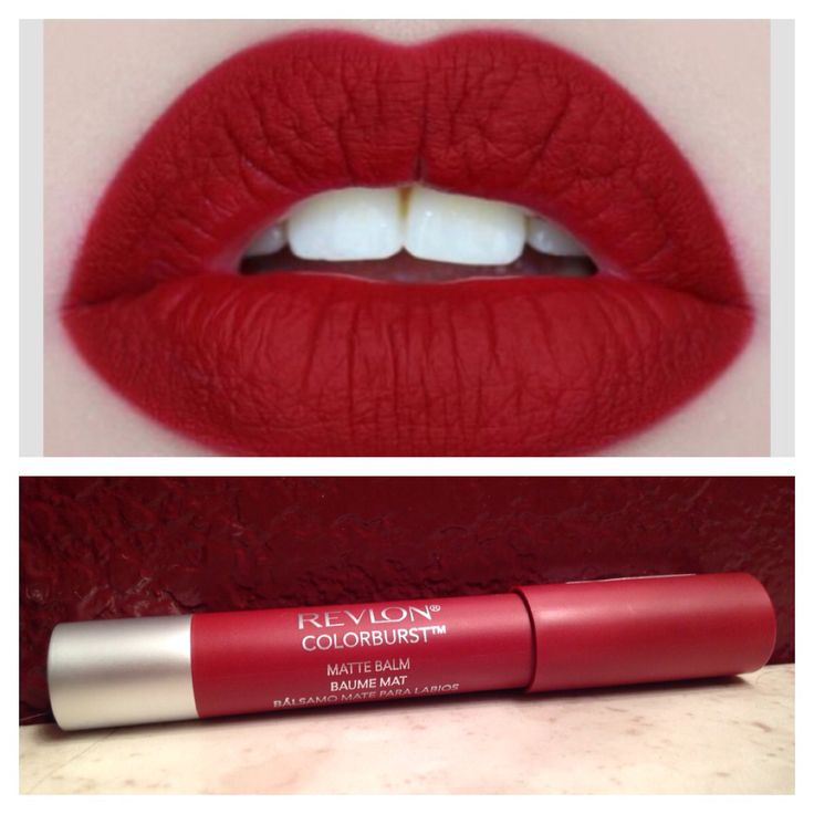 Get Matte Red Lips for a cheap price! Revlon Colorburst Matte Lip Balm only…