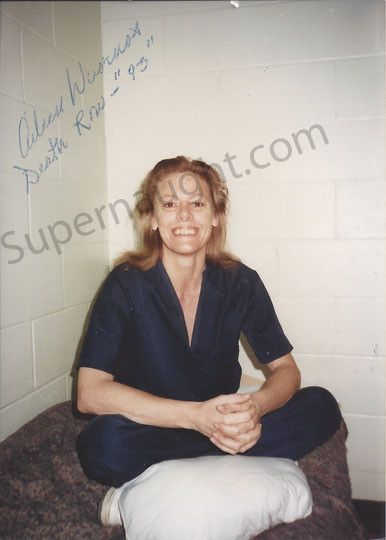 Aileen Wuornos death row photo signed