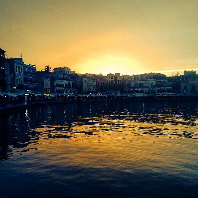 #Sunset #Chania #Greece Photo credits: @merlins_mind