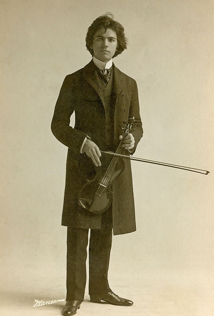 Violinist From New York, USA