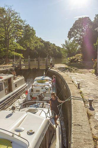France Canal Du Midi Marseillette