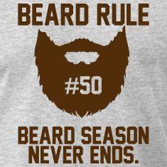 Beard Rules T-Shirts